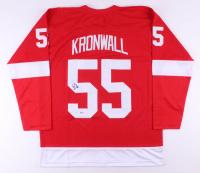 Niklas Kronwall Signed Jersey (Beckett COA)