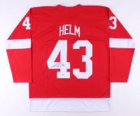 Darren Helm Signed Jersey (Beckett COA)