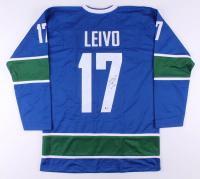 Josh Leivo Signed Jersey (Beckett COA)