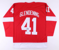 Luke Glendening Signed Jersey (Beckett COA)