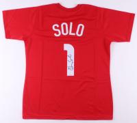 Hope Solo Signed Jersey (JSA COA)