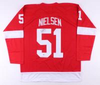 Frans Nielsen Signed Jersey (Beckett COA)