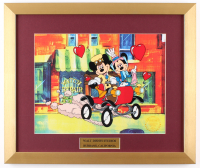 "Walt Disney's Goofy LE ""Nifty Nineties"" 16x19 Custom Framed Animation Sericel Display at PristineAuction.com"