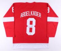 Justin Abdelkader Signed Jersey (Beckett COA)