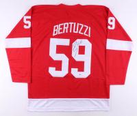 Tyler Bertuzzi Signed Jersey (Beckett COA)