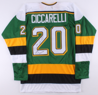 """Dino Ciccarelli Signed Jersey Inscribed """"State of Hockey"""" (TSE COA) at PristineAuction.com"""