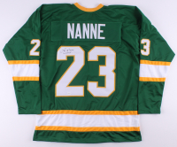 "Lou Nanne Signed Jersey Inscribed ""US HOF"" (TSE COA) at PristineAuction.com"