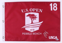 Louis Oosthuizen Signed 2019 U.S. Open Pin Flag (Beckett COA) at PristineAuction.com