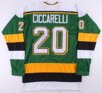 "Dino Ciccarelli Signed Jersey Inscribed ""H.O.F 2010"" (TSE COA)"