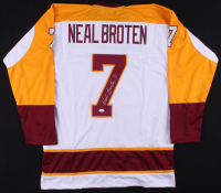 Neal Broten Signed Jersey (TSE COA) at PristineAuction.com