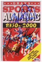 "Michael J. Fox & Christopher Lloyd Signed ""Grays Sports Almanac: 1950-2000"" Paperback Book (Beckett COA)"