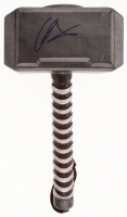 "Chris Hemsworth Signed ""Thor"" Replica Mjolnir Hammer (Beckett COA) at PristineAuction.com"