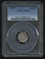 1849 H10¢ Seated Liberty Half Dime (PCGS XF 45)