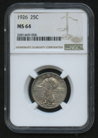 1926 25¢ Standing Liberty Quarter (NGC MS 64) at PristineAuction.com