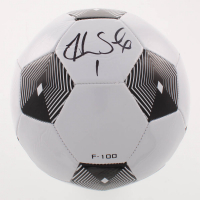 Hope Solo Signed Soccer Ball (Schwartz COA) at PristineAuction.com