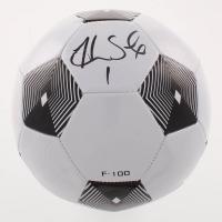 Hope Solo Signed Soccer Ball (Schwartz COA)