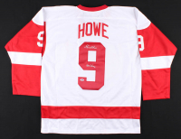 "Gordie Howe Signed Jersey Inscribed ""Mr. Hockey"" (PSA COA) at PristineAuction.com"