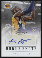 2013-14 Prestige Bonus Shots Autographs #99 Kobe Bryant at PristineAuction.com