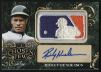 2019 ITG Used Sports The Chosen Few Autograph Memorabilia Gold Spectrum - MLB Logo - #TCFARH1 Rickey Henderson #1/1 at PristineAuction.com