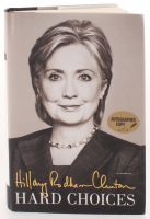 "Hillary Clinton Signed ""Hard Choices"" Hardcover Book (PSA COA) at PristineAuction.com"