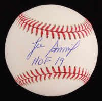 "Lee Smith Signed OML Baseball Inscribed ""HOF 19"" (JSA COA) at PristineAuction.com"