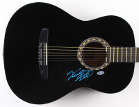 """Vince Gill Signed 38"""" Rogue Acoustic Guitar (Beckett COA) at PristineAuction.com"""