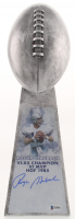 Roger Staubach - Cowboys - Signed Large Lombardi Trophy (Beckett COA) at PristineAuction.com