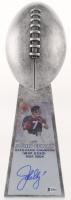 John Elway - Broncos - Signed Large Lombardi Trophy (Beckett COA)