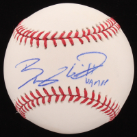 "Bobby Witt Jr. Signed OML Baseball Inscribed ""UA MVP"" (Beckett COA)"