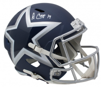 Amari Cooper Signed Dallas Cowboys Full-Size AMP Alternate Speed Helmet (JSA COA) at PristineAuction.com