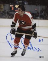 Bill Barber Signed Philadelphia Flyers 8x10 Photo (Beckett COA)
