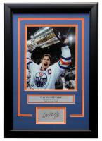 Wayne Gretzky Edmonton Oilers 11x14 Custom Framed Matted Photo Display at PristineAuction.com