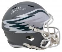 Fletcher Cox Signed Philadelphia Eagles Full-Size AMP Alternate Speed Helmet (JSA COA) at PristineAuction.com