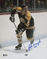 Johnny Bucyk Signed Boston Bruins 8x10 Photo (Beckett COA)