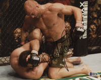 Randy Couture Signed UFC 8x10 Photo (Beckett COA)