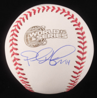 Paul Konerko Signed 2005 World Series Logo Baseball (Schwartz COA)