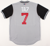 Tim Anderson Signed Chicago White Sox Jersey (Schwartz COA)