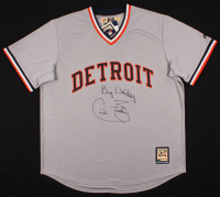 "Cecil Fielder Signed Detroit Tigers Jersey Inscribed ""Big Daddy"" (Schwartz COA)"