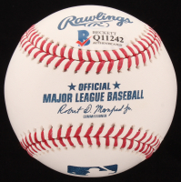 "Paul Ryan Signed OML Baseball Inscribed ""Spkr"" (Beckett COA) at PristineAuction.com"