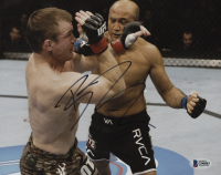 B. J. Penn Signed 8x10 Photo (Beckett COA)