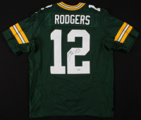 Aaron Rodgers Signed Green Bay Packers Jersey (Fanatics Hologram) at PristineAuction.com
