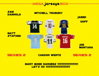 Mega Jersey Mystery Box - Autographed Jersey Series 2 #/100 (Many More Bangers!) at PristineAuction.com