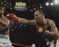 """Irish"" Mickey Ward Signed 8x10 Photo (Beckett COA)"