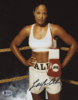 Laila Ali Signed 8x10 Photo (Beckett COA)