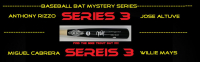 Autographed Baseball Bat Mystery Box - Series 3 (Find the Mike Trout!!) at PristineAuction.com