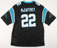 Christian McCaffrey Signed Carolina Panthers Jersey (Beckett COA)