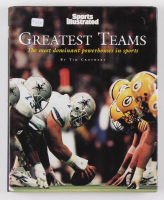 """Sports Illustrated: Greatest Teams"" Hardcover Book Signed by (69) with Multiple Inscriptions (TriStar Hologram)"