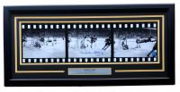 """Bobby Orr Signed """"The Flying Goal"""" Boston Bruins 16x32 Custom Framed Filmstrip Photo (GNR COA)"""