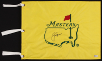 Jack Nicklaus Signed Masters Tournament Golf Pin Flag (Beckett LOA) at PristineAuction.com