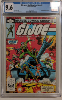 "1982 ""G.I. Joe"" Issue #1 Marvel Comic Book (CGC 9.6) at PristineAuction.com"